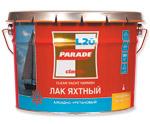 'Лак яхтный PARADE алкидно- уретановый п/матовый 2,5 л