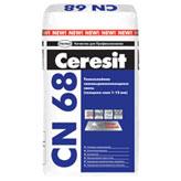 Церезит 68 смесь для пола самовыравнивающаяся 1-15 мм 25 кг