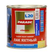 'Лак яхтный PARADE алкидно- уретановый глянец 0,75 л