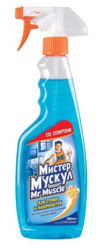 'Мистер Мускул для стекол Синий 500 мл (130р.)