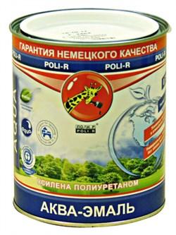 Эмаль Поли-Р аква белая полуматовая 2,5 л