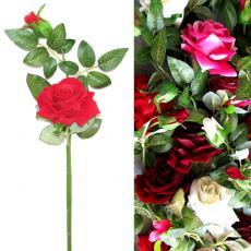 Роза ветка бархат
