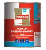 'Эмаль для радиаторов PАRADE А-4 белая п/матовая 0,450 гр