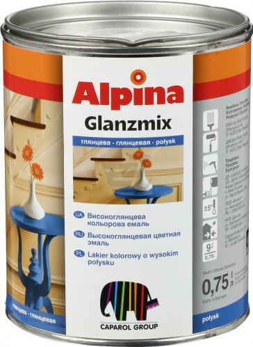 Эмаль АLPINA R5010 ярко-синий 0,75л высокоглянец Glanzmix