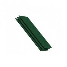 Конек-карниз ШИНГЛАС зеленый 4К4Е21-1095RUS (уп. 20шт., 5 кв.м.)