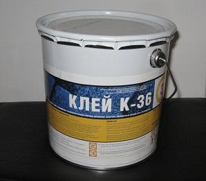 Клей-герметик для кровли Катепал К-36 3 л
