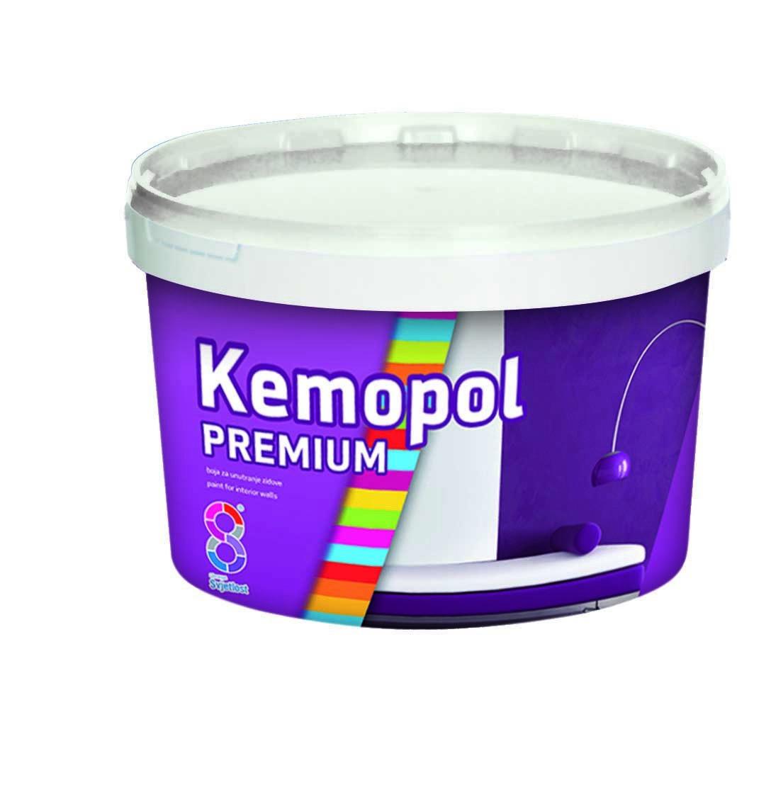 Краска в/д Kemopol Premium 2л д/стен и потолков (Хорватия)