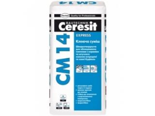 Церезит 14 Клей для плитки 25 кг для внутренних и наружних работ (кроме мрамора)