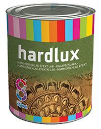 Эмаль по метал. Hardlux молотковая черная 2,5л