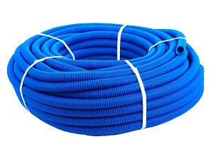 'Кожух защитный гофрированный 16мм синий