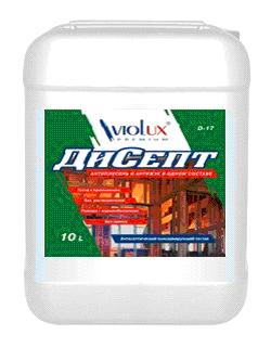 Антисептик ДиСепт VioLux Д-17 10л для древесины