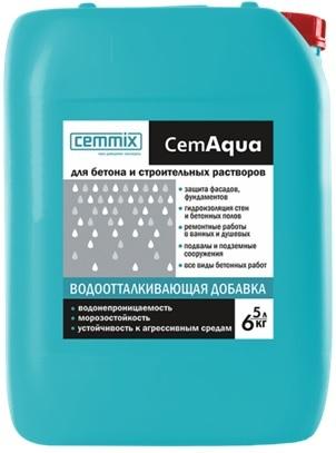 Добавка водоотталкивающая CemAgua 5л CEMMIX