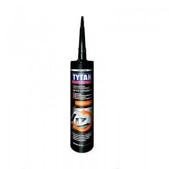 Герметик Титан для кровли каучуковый  бесцветный 310 мл
