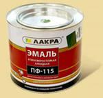 'Эмаль ПФ-115 (Лакра Синтез) зеленый 2 кг