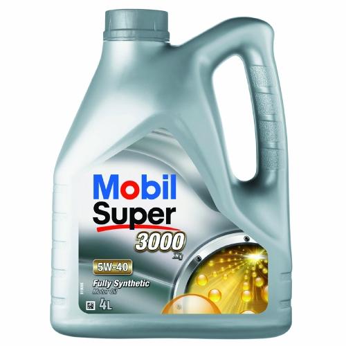 Масло моторное Mobil Super 3000-1.5w40 4л