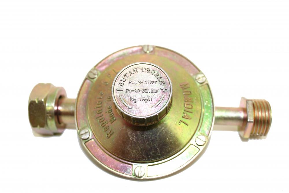 Редуктор для газового баллона (гайка-резьба)