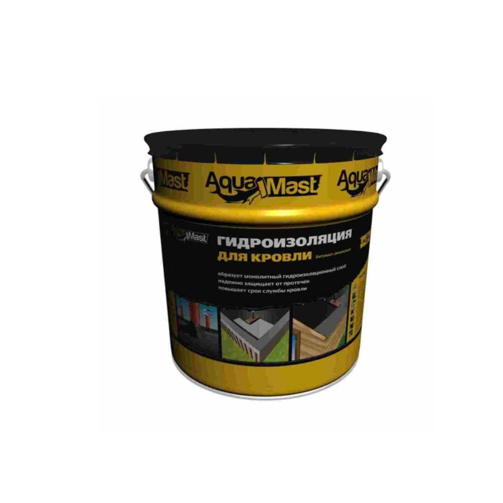 Мастика битумно-резиновая кровельная AguaMast 3кг