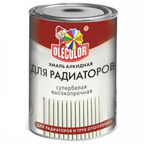 'Эмаль для радиаторов акриловая 1кг OLECOLOR