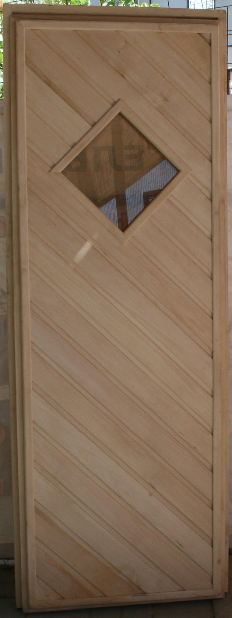 Дверь банная липа вставка стекло 1,9х0,7 (5040р.)