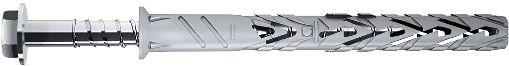 Дюбель рамный с шестигр. шурупом 8х80мм (4 шт) 36163