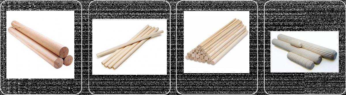'Черенок в/с для граблей ф 30 х1500мм березовый