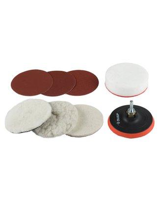 Набор для лессировки декоративных покрытий ф125 (фетр,поролон,искусственный мех)