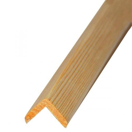 'Уголок деревянный 20*20*3000 мм гладкий