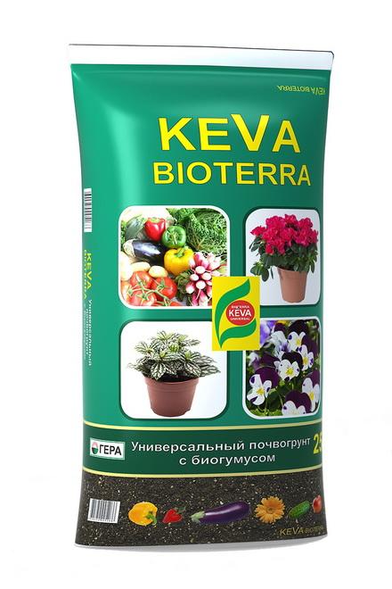 Грунт KEVA BIOTERRA 25л