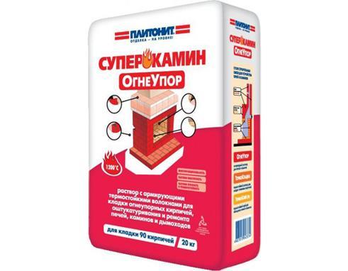 ПЛИТОНИТ Огнеупор - 20 раствор для кладки огнеупорных кирпичей