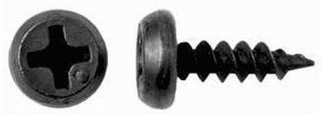 'Саморезы 3,5х11,5  б/сверла черный клоп