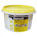 Цемент монтажный Церезит CХ-5 белый водоостанавливающий 2кг