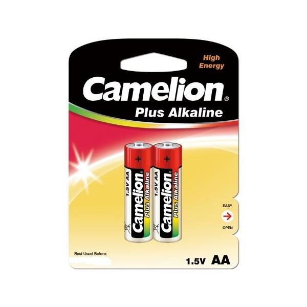 Батарейка пальчиковая Camelion Alkaline