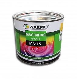 'Краска МА-15  1,9 кг Желтая Лакра