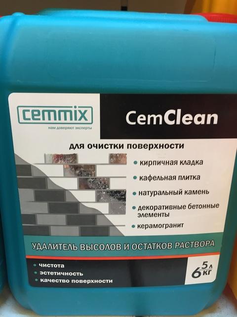 Средство д/удаления высолов Cem Clean 5л