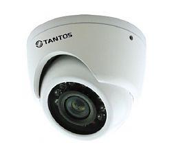 Видеокамера цветная уличная TANTOS TSc-EBm600CHB(2,8) антивандальная.