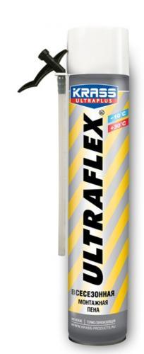 Пена монтажная ULTRAFLEX 650мл всесезоннная