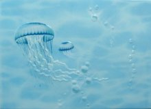 Декор ЛАГУНА медуза