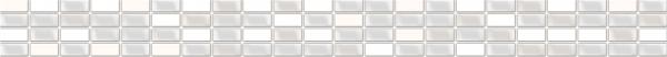 Бордюр Crystal перламутровый  (CU1J501)  5X44  Cersanit
