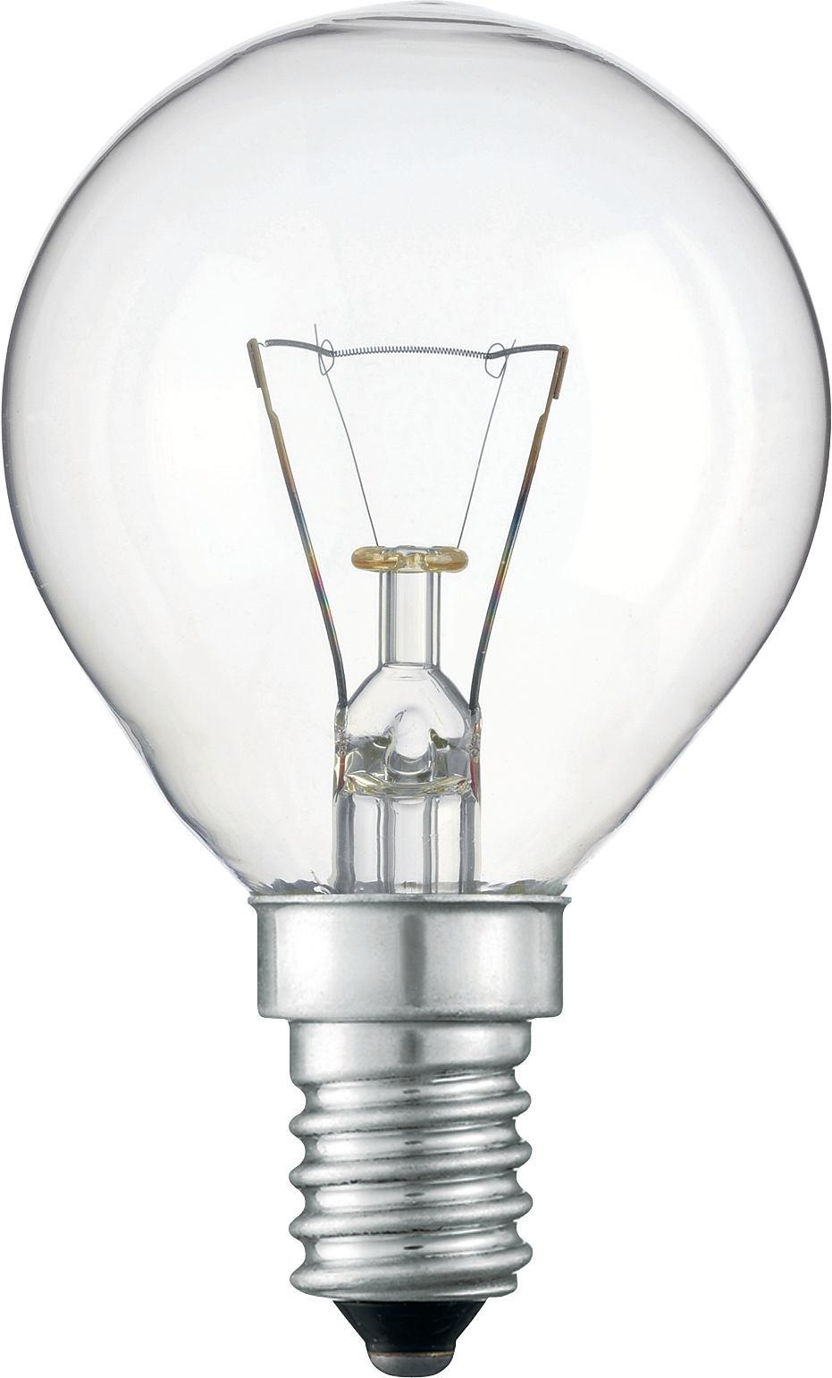 'Лампа капля прозрачная 40 W Е14