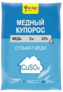 Медный купорос 100гр  Фаско (50р.)