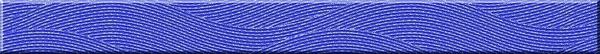 'Бордюр WAVE стекл. синий WA7H121 4Х44