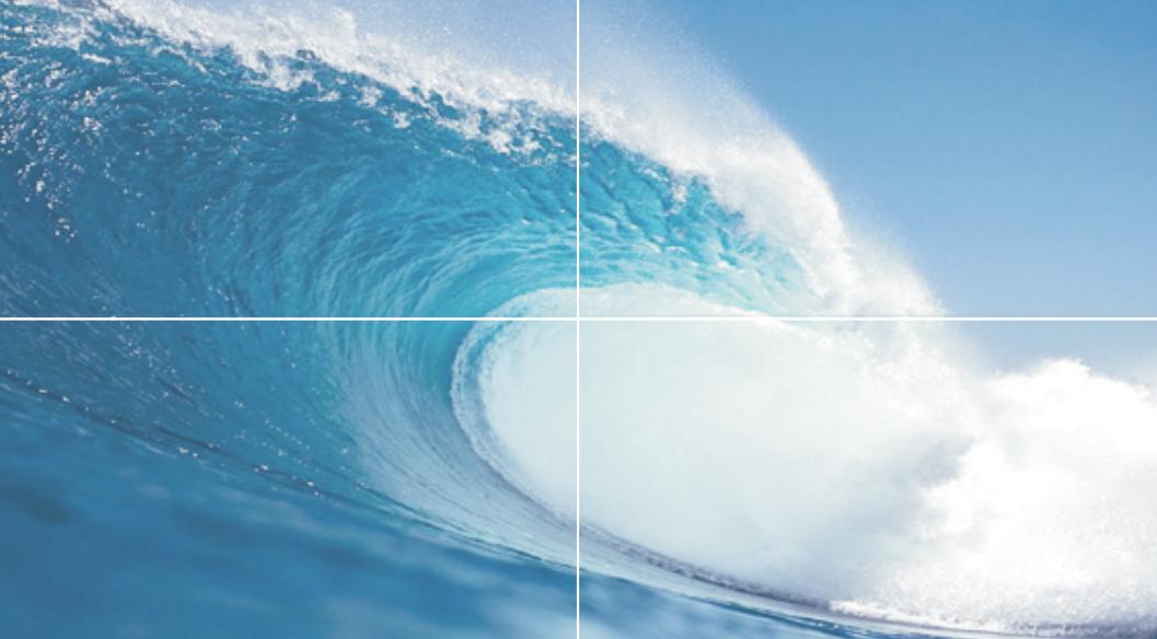 Панно WAVE 50X90 (4шт)