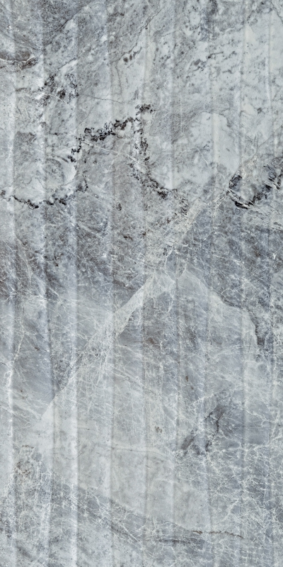 Плитка наст. Versus Wave  Dec  Grey Glossy  30*60