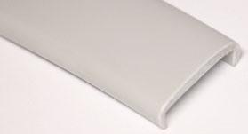Кромка ПВХ-мягкая белая 5м