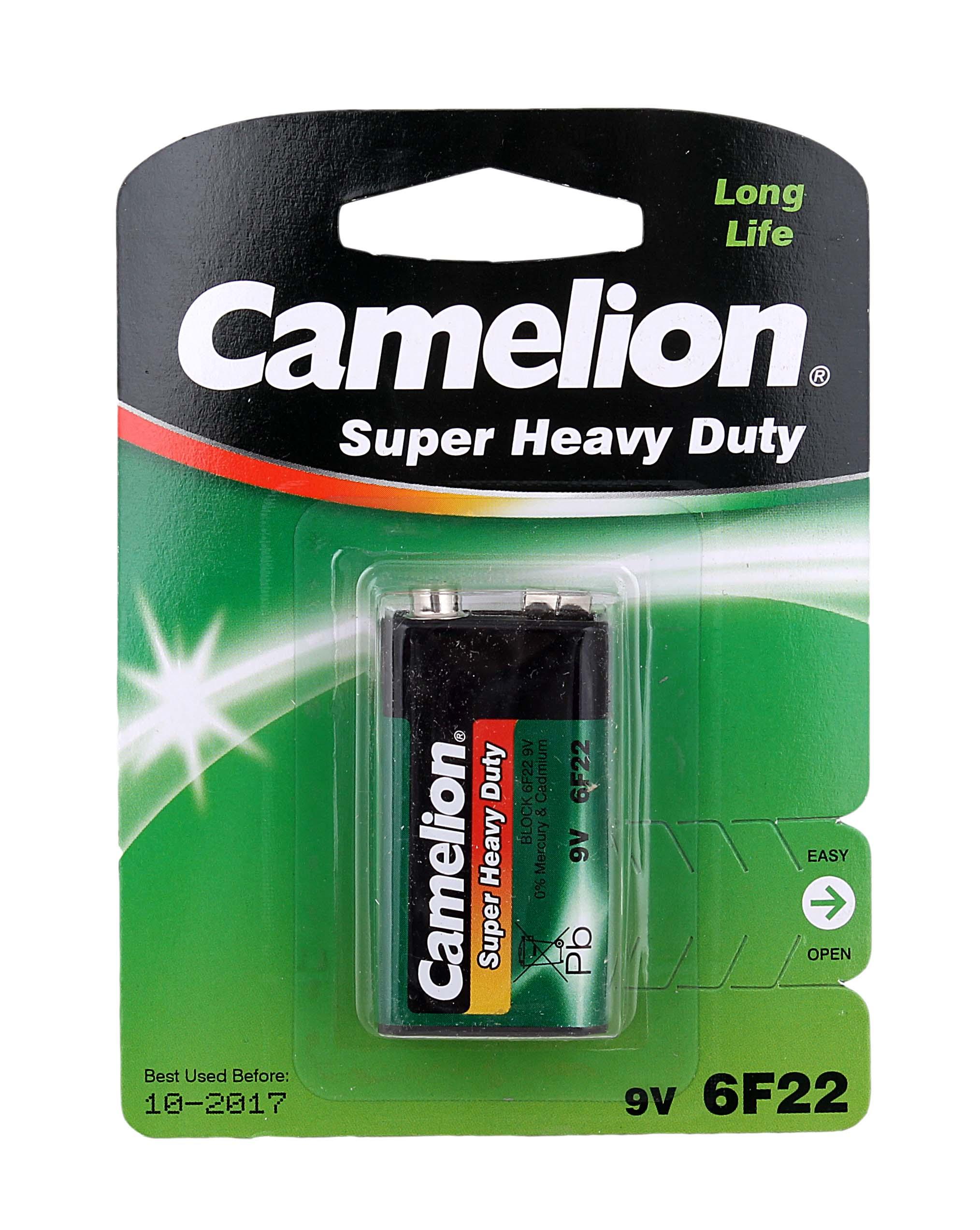 Батарейка Крона Camelion 6F-22 9V блистер-1шт