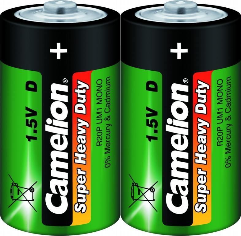 Батарейка большая Camelion