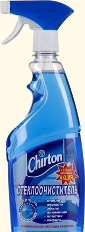 'Ср-во для стекол Чиртон морская свежесть 500мл
