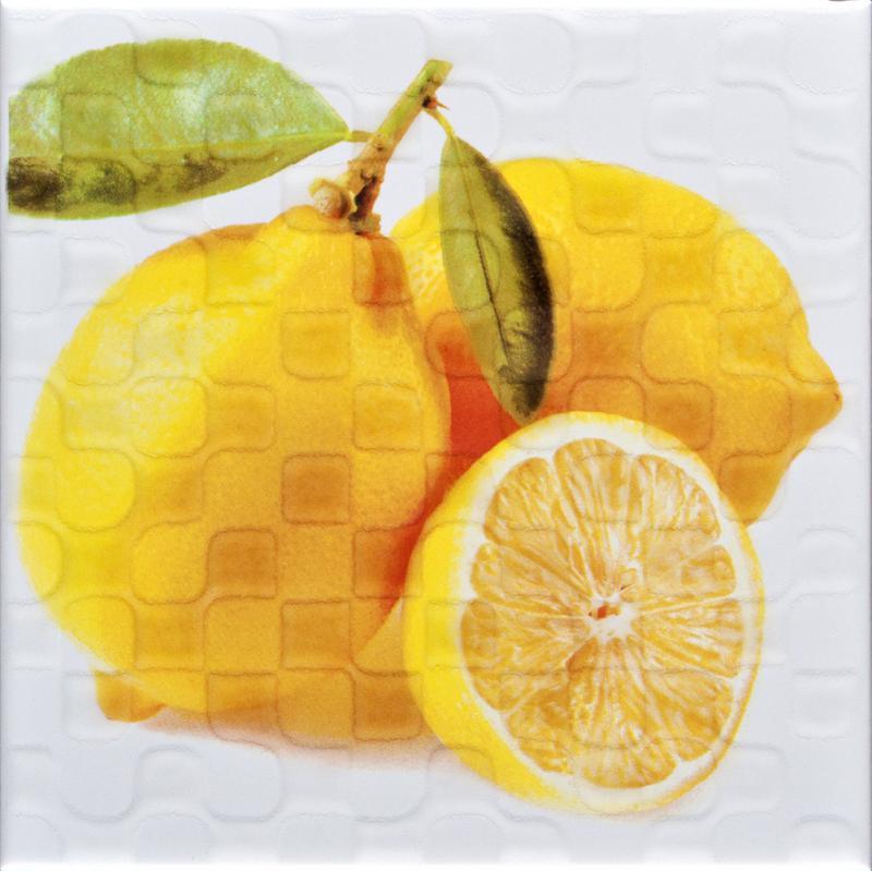 'Декор Orly Lemon W D9 20Х20