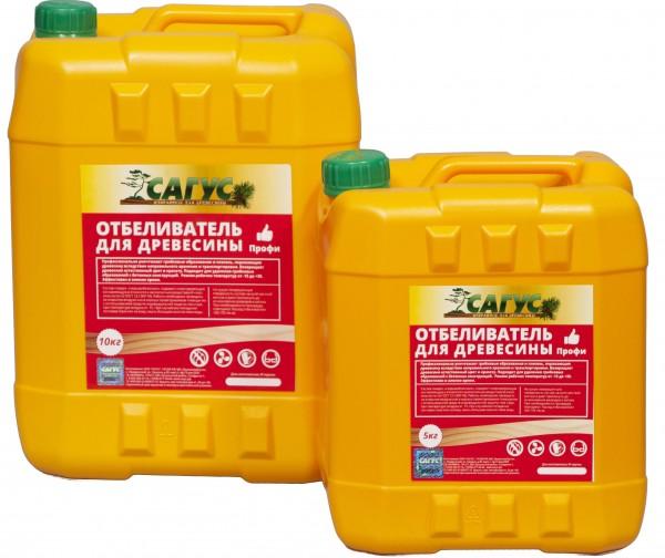 Отбеливатель Сагус ПРОФИ -20*10л для древесины