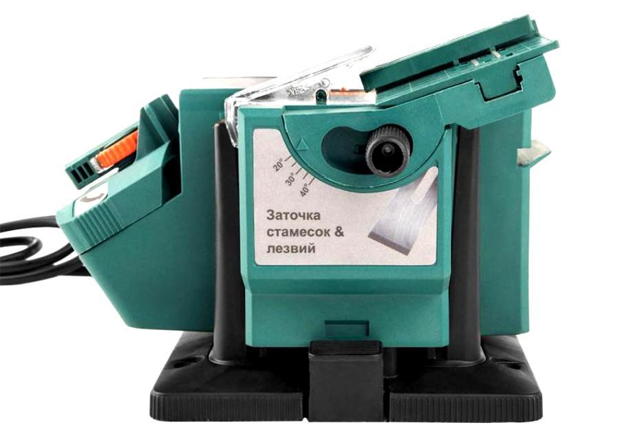Точильный станок многофункциональный STURM BG6010S,100Вт,6700 об.мин,круг 49,3х10,2х7,5мм.